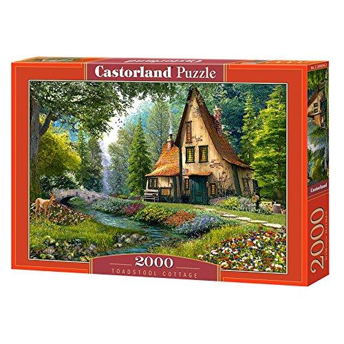 Castorland pcs Toadstool Cottage Puzzle 2000 pezzi, Multicolore, C-200634-2