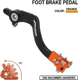 Palanca de pedal de freno trasero para motocicleta, palancas de aluminio CNC para KTM Husqvarna SX SX-F XC XC-F XC-W XCF-W EXC EXC-F EXC-R SMR 125 144 150 200 250 300 350 400 450 500 505 530 naranja