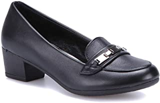 71.156599.Z Siyah Kadın Ökçeli Ayakkabı