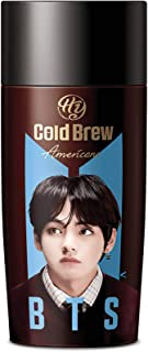 PALDO BTS BangTan Boys V Kpop Cold Brew Americano Coffee Bottled Drinks, Ready To Drink Unsweetened Beverage Bottle, 9.13 ...