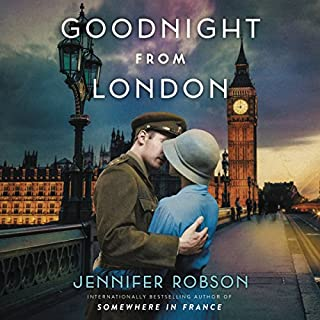 Goodnight from London audiobook cover art
