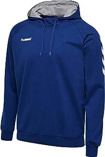 hummel Męska bawełniana bluza z kapturem Hmlgo - bluza z kapturem dla mężczyzn