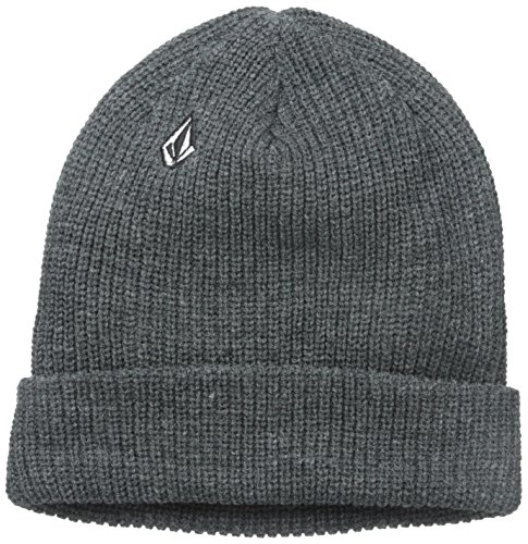 Volcom Full Stone Gorro, Hombre, Gris (Charcoal Heather), O/S