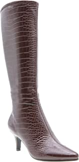 Noland Stretch Dress Boot (7M, Coffee)
