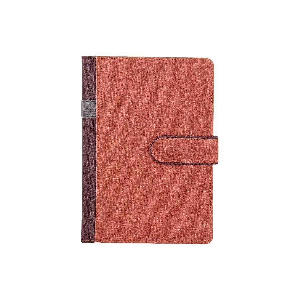 乞食アナログ企業Kuqiqi ノートブック、メモ帳、ビジネス会議のノート、ヴィンテージ日記、茶色、青、ベージュ、グレー 高品質の製品 8 (Color : Brown)