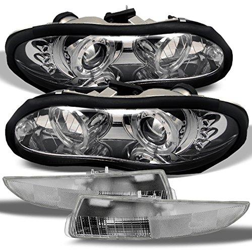 02 camaro headlights halo - 4