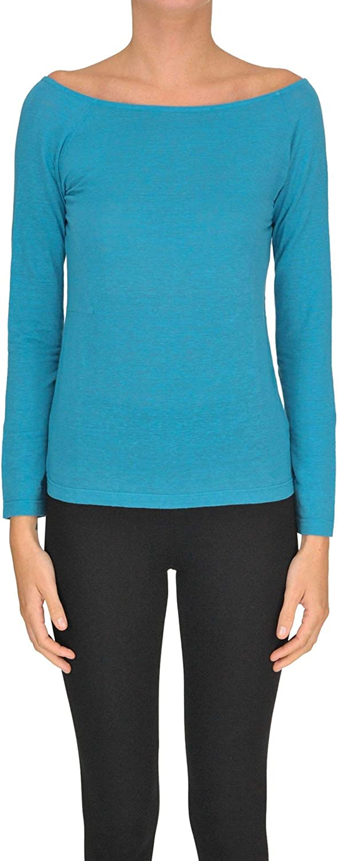 Shirt CZero Women's MCGLTPS000005073E Light bluee Linen Jumper