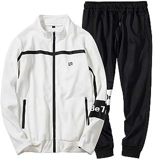 db0909628 Men s Autumn Winter Patchwork Sweatshirt Top Pants Sets Sports Suit  Tracksuit