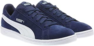 PUMA Men's Smash v2 Sneaker (9, Navy)