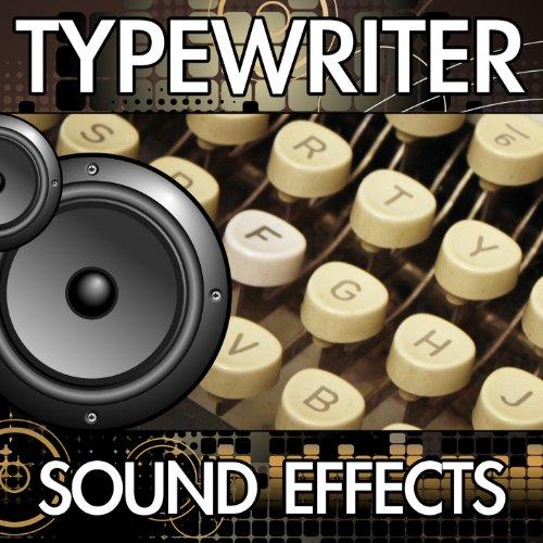 Typewriter Electric Typing Six Key Strokes (Electronic Modern Typing Type Writer Keystroke Noise Clip) [Sound Effect]