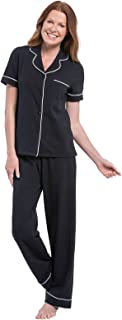Image of Pretty Womens Short Sleeve Pajama Set - More Colors Available