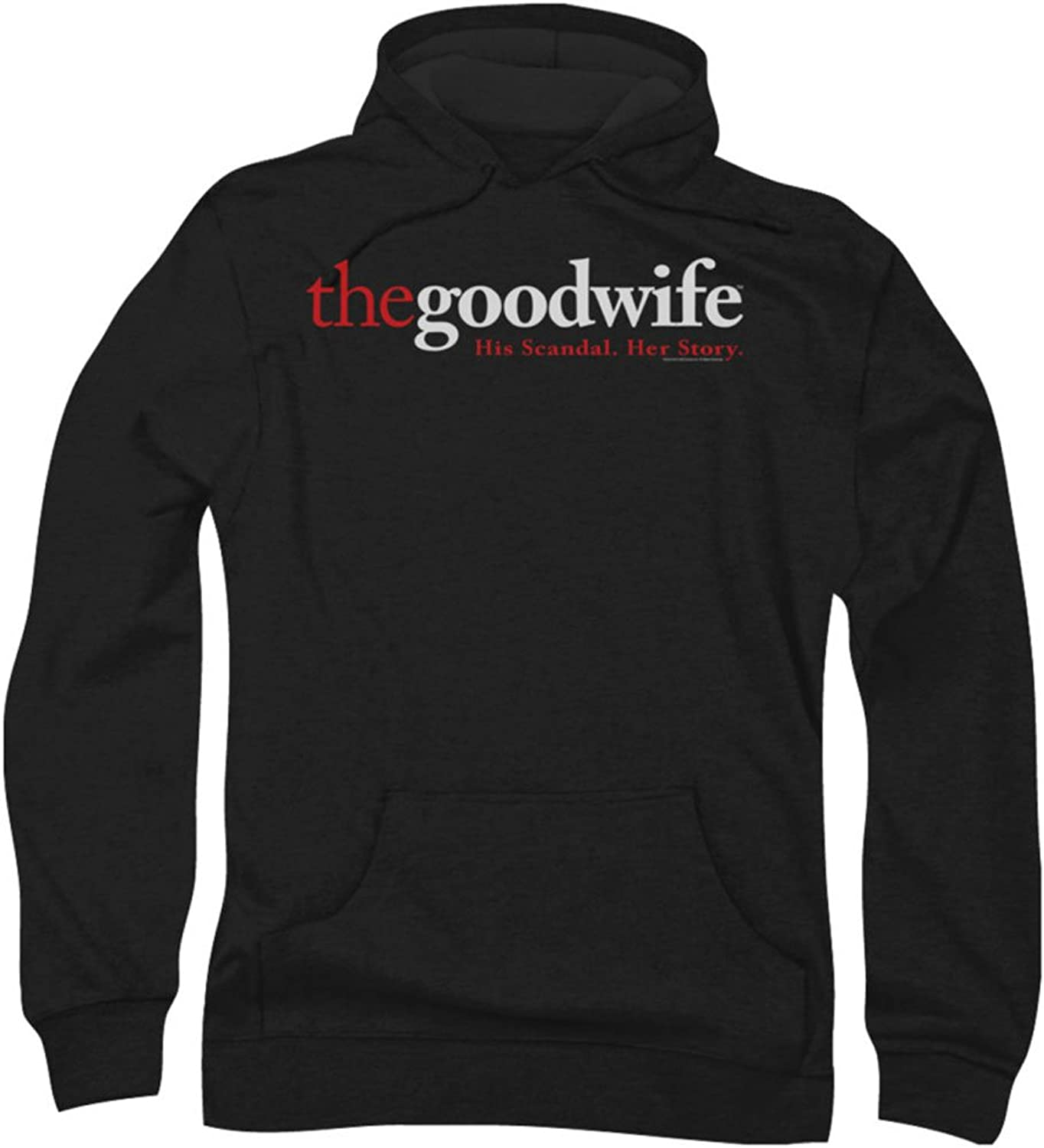 1e32329805 The The The Good Wife - Mens Logo Hoodie, XX-Large, Black acfe21 ...