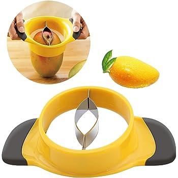 Mangoschneider Mango Schneider Mangoentkerner Mangozerteiler Mangoteiler Slicer