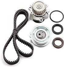 cciyu Fits 1998-2005 Volkswagen Beetle 2.0L 1984CC SOHC AEG Timing Belt Water Pump Kit