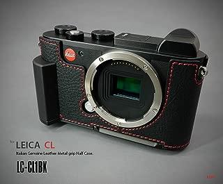 Lim's LC-CL1BK Metal Grip Genuine Leather Camera Half Case for Leica CL Black