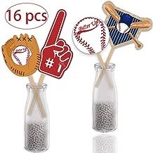 diy baseball centerpieces