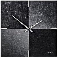 AMSからクオーツムーブメントを備えた現代的な壁時計