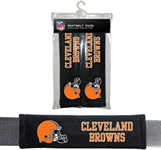 NFL Cleveland Browns Seat Belt Pad (Pack of 2)