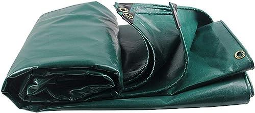 DLewiee Plastique imperméable extérieur imperméable de PVC de bache de Tente de Tente d'abri de Camping Enduit avec l'oeil en métal de Trou