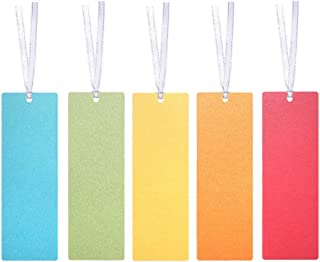 Jewelry Making Party Favors 100-Pack Souvenir Wedding - Anti-Wrinkled Treatment Art and Craft Project Gift Tags for Bookmarks Creanoso Bookmark Tassels Black Decor