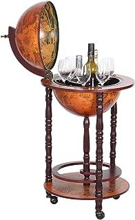 NEX HT-KF304G-S Globe Wine Bar, Wood