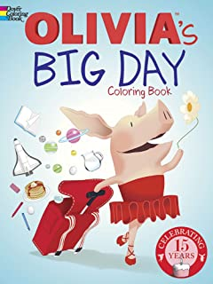 Olivia's Big Day Coloring Book (Dover Paper Dolls)