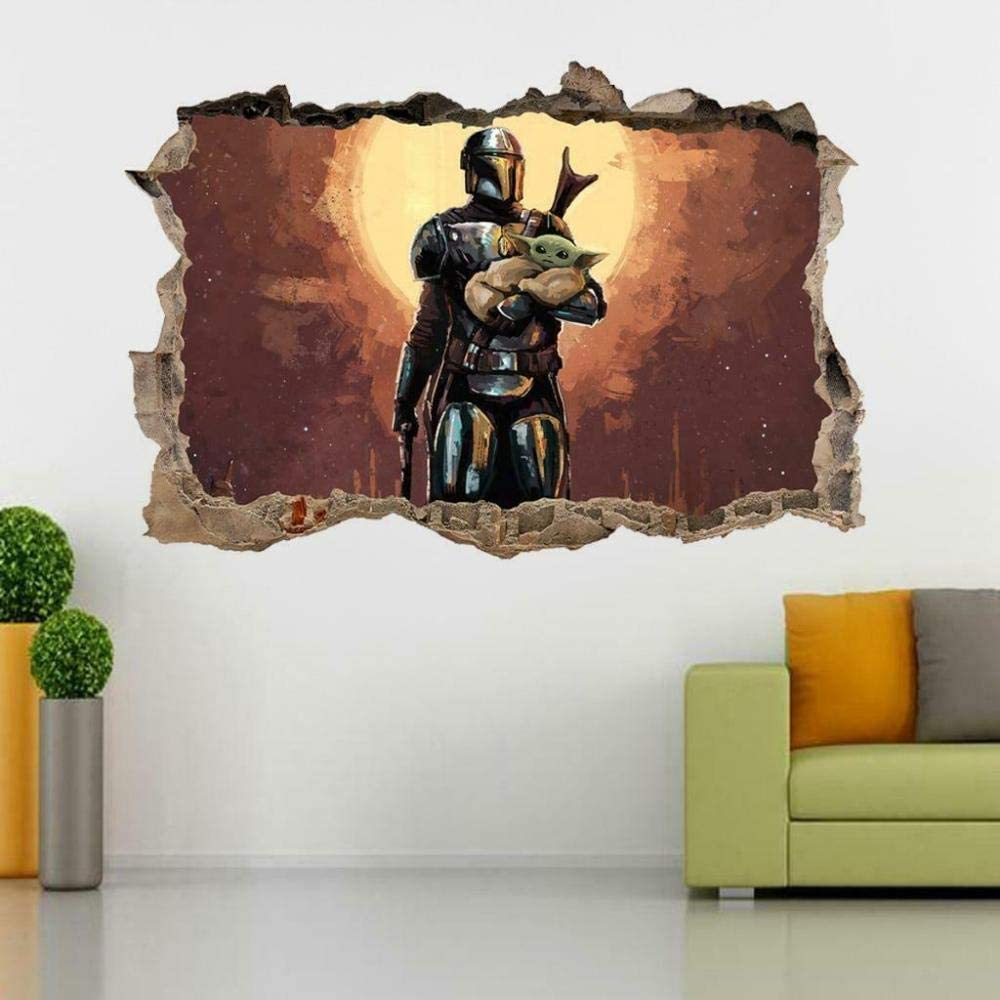 SYYUN Wall Sticker 3D It is very Max 81% OFF popular Decorati Smashing Home Decals