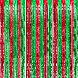 3 Packs 3.3ft x 6.6ft Red Green Metallic Tinsel Foil Fringe Curtains Photo Booth Props for Birthday Christmas New Year Bridal Shower Baby Shower Bachelorette Holiday Celebration Party Decorations