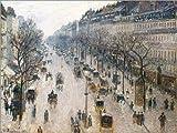 Poster 40 x 30 cm: Boulevard Montmartre von Camille