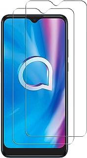 NOKOER skärmskydd för Alcatel 1V 2020, [2-pack] 2,5D premium härdat glas [repbeständig] [Enkel installation] bubbelfritt s...
