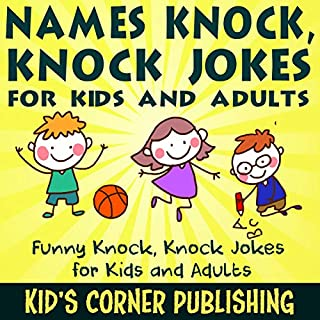 Names Knock, Knock Jokes for Kids and Adults cover art
