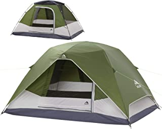 Camping Tent 4 Person Dome Tent 9'X7'X55'' Waterproof...