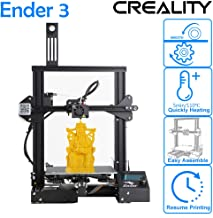 CCTREE 2019 New Version Creality Ender 3 3D Printer Aluminum DIY with Resume Printing for Home & School Use 220x220x250mm
