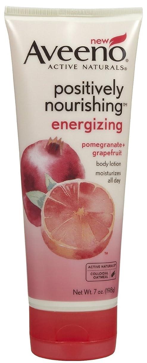 興奮超える自宅でAveeno Positively Nourishing Energizing Lotion, 7 Ounce