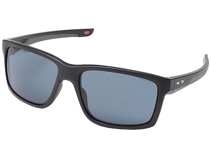 Oakley Mainlink (Matte Black) Plastic Frame Fashion Sunglasses