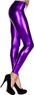 MUSIC LEGS Women's Metallic Leggings