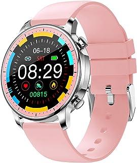 SmartWatch, pełny ekran dotykowy V23, ciśnienie krwi, wodoodporny IP67, tracker fitness, kobiety SmartWatch dla iOS Android