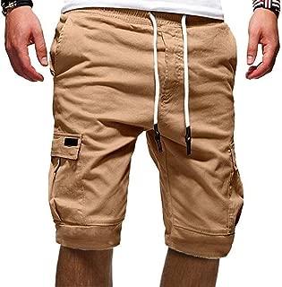 Homme Taille Élastique Short Cargo Été Demi Pantalon King grande taille 4XL 5XL 6XL