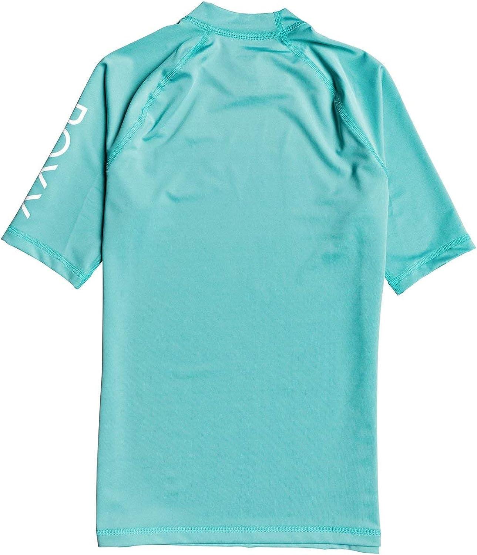 ROXY Womens Whole Hearted Short Sleeve UPF 50 Rash Vest