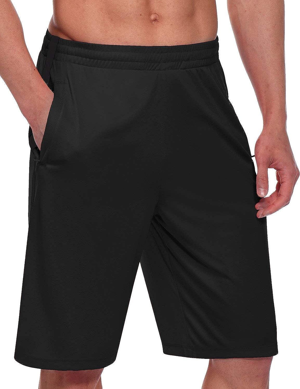 BALEAF Men's Basketball In stock Shorts Long Dr Pockets with Zipper Bargain Quick