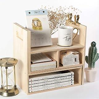 Pots à épices,Organisateur de Rangement de Bureau, étagère de Bureau, étagère Polyvalente pour Bureau et Maison, Table Ext...