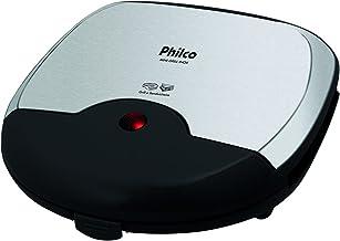 Mini grill, Inox, 750W, Preto, 220v, Philco