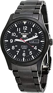 Mens Analogue Automatic Watch with Stainless Steel Strap SNZG17K1