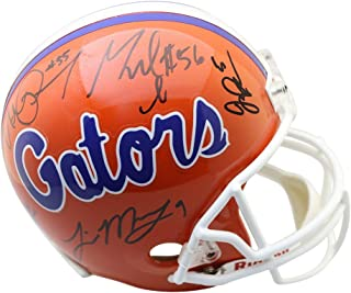 Florida Gators Legends Autographed Signed Riddell Replica Helmet- 10 Signatures