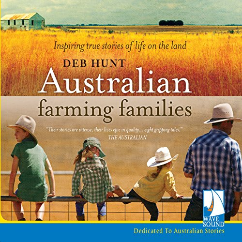 Australian Farming Families audiobook cover art