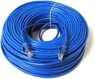 50 Mtrs CAT 6 LAN Cable, CAT 6 Ethernet Patch Cord, LAN Network Cable 50 Mtr Length