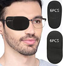 Eye Patches for Adults Kids - VEEJION 12 Piece Eye Patch for Glasses Treat Lazy Eye Amblyopia Strabismus for Left or Right...