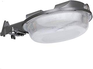 CINOTON LED Barn Light 58W, 5000K Daylight Floodlight, Dusk to Dawn Yard Light with Photocell, 7000lm Outdoor Area Light, Waterproof Outdoor Security Light Farm/Garage/Sidewalk, 5-Year Warranty