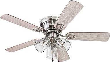 Portage Bay 51437 Renton Ceiling Fan, 42, Brushed Nickel