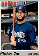 2019 Topps Heritage Minors #71 Abraham Toro RC Rookie Corpus Christi Hooks Baseball Trading Card